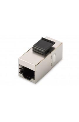 Empalmador RJ45 Cat.6 FTP Hembra/Hembra panelable