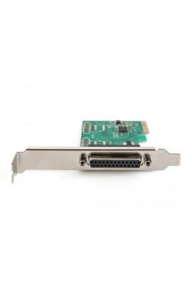Tarjeta PCIe  Pto. Paralelo 1Pto DB25 Hembra LP