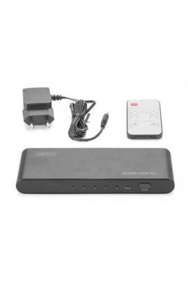 Conmutador HDMI 2.0 4K/2K/60Hz 5 IN a 1 OUT FullHD