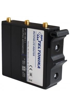 Kit adaptador de Carril DIN plástico para Router RUTX08