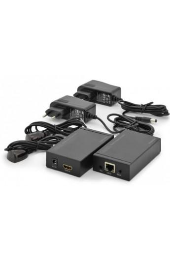 Amplificador HDMI a través de UTP 120Mts T+R 1 cable