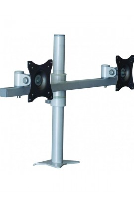 Soporte monitor/TV a mesa Edbak para 2 pantallas