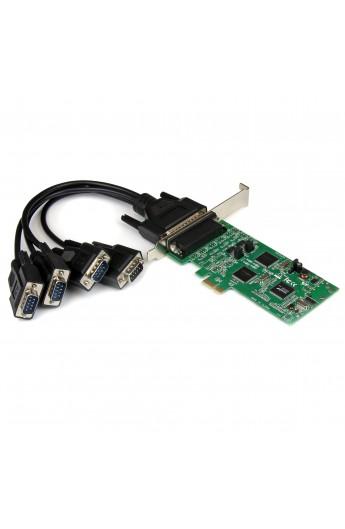 Tarjeta PCIe RS232/422/485 4xPtos. DB9 M Low Profile