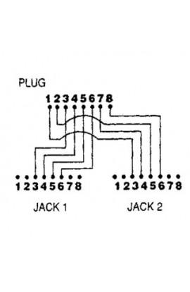 Adaptador de Red Divisor tokenring o voz/modem/fax MTWA01