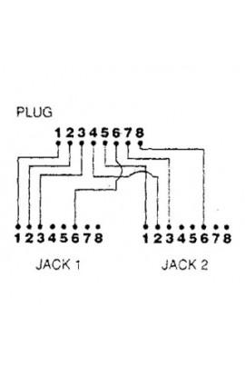 Adaptador de Red Divisor 2Ptos de datos 10B-T MTWA04