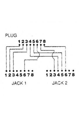 Adaptador de Red Divisor 1Pto datos TokenRing MTWA06