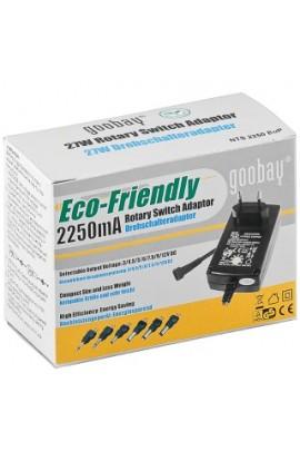 Alimentador Externo Universal 3-12VDC 2250mA 8Plugs