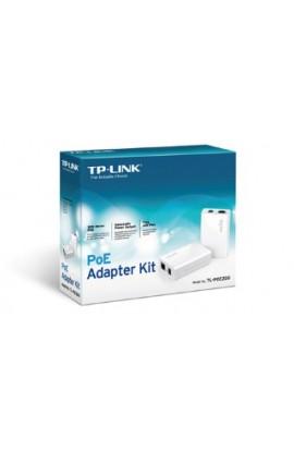Inyector + Splitter PoE TPLink 100mts