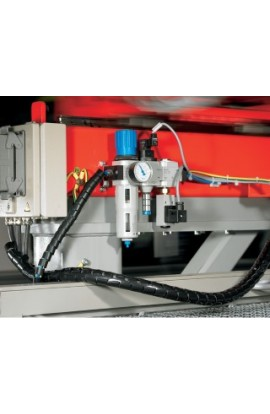 Protege cables 16mm de grosor Hellermanntyton 2mts Negro