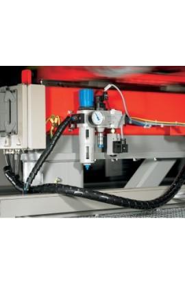 Protege cables 25mm de grosor Hellermanntyton 2mts Plata
