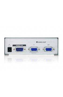 Splitter VGA 1 IN a 2 OUT ATEN 350Mhz hasta 65mts