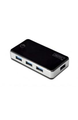 HUB USB 3.0 4Ptos  USB  Digitus c/ alimentación