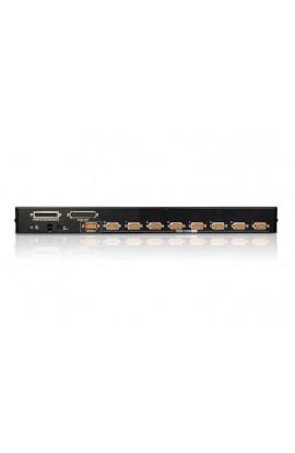 Conmutador KVM autoswitch 8PCs a 1Psto VGA + USB/PS2 Rack