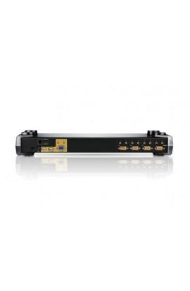 Conmutador KVM autoswitch 4PCs a 1Psto trabajo USB Rack