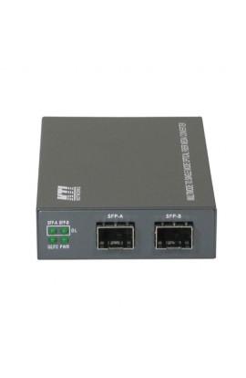 Convertidor de modo F.O KTI Networks Gigabit SM<>MM KGC-311