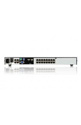 KVM IP Aten 16Ptos + 5 BUS(4 remotos) sobre RJ45 1U