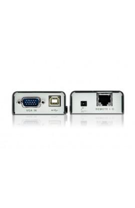 Amplificador Extensor KVM Aten VGA+USB 100mts T+R