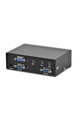 Conmutador VGA 2PCs a 1Monitor(1920x1440) DIGITUS