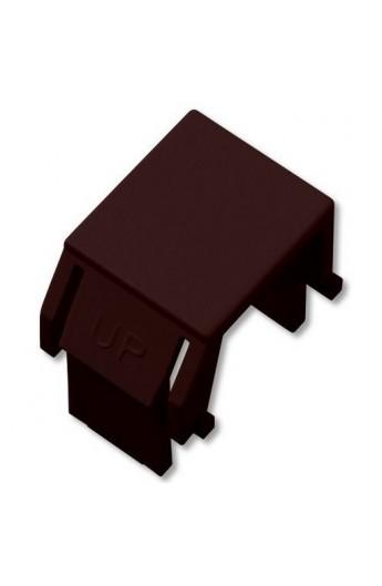 Tapa protector p/ paneles vacios Keystone color Negro 10Unid