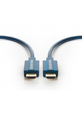 Cable HDMI Cliktronic 1.4 tipo A M/M 1,0mts Premium 4K