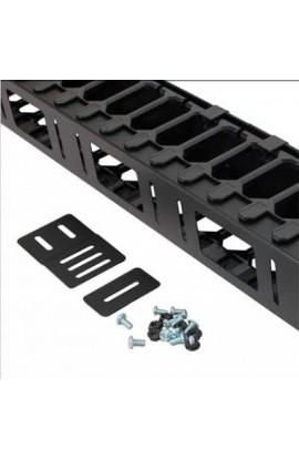 Panel guía cables Vertical para rack 42U y 800mm negro
