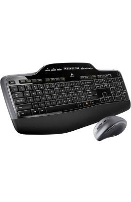 Teclado y ratón Wireless Logitech desktop MK710
