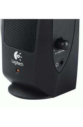Altavoces Logitech 2.0 Multimedia Speaker S120 minijack