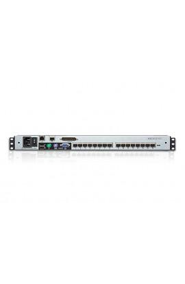 "Consola Rack KVM IP 16CPU 1xM+T+R Aten monitor17"" PS/2 y USB"
