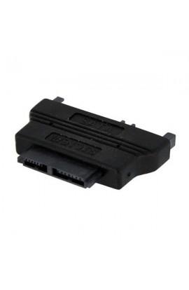 Adaptador SSD SlimLineSATA(9+7pines) H a SATA(15+7pines) M