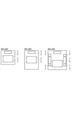 Rack Network DATWYLER DNRS Standar 42U 800x800mm IP30 Black
