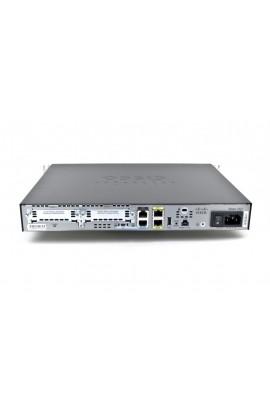 Router Cisco 1900 2xWAN GE+2HWIC Slots 512MB IP Base SEC