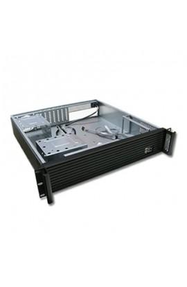 """Caja CPU Rack 19"""" ATX 2U color Negro s/Fuente Alimentación"""