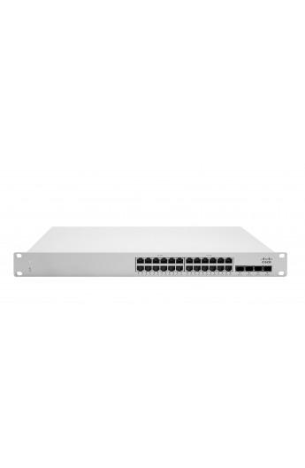 Switch Cisco Meraki L2 24Ptos Gigabit PoE 370W Cloud managed