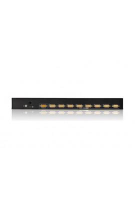 Conmutador KVM 8PCs a 1Pto trabajo USB/PS2+VGA