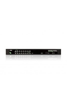 Conmutador KVM 16PCs a 1Pto trabajo USB/PS2+VGA