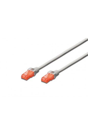 Latiguillo RJ45 Cat.6 U/UTP flexible LSZH CU Gris 2,0mts