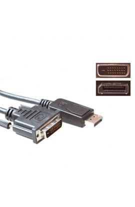 Cable Displayport Macho a DVI-D Macho 3,0 metros