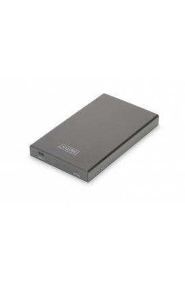 "Caja externa USB3.1 tipo C a HDD/SDD SATA 2,5"" Aluminio Neg"