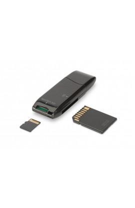 Lector de tarjetas USB2.0 DIGITUS SD/MMC/MS Stick