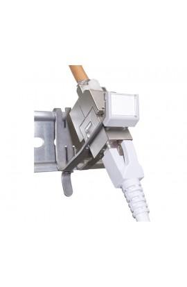 Adaptador Carril DIN metálico 1XRJ45 Hembra KS-U/T DATWYLER