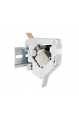 Adaptador Carril DIN plástico IP20 1XRJ45 H KS-U/T DATWYLER
