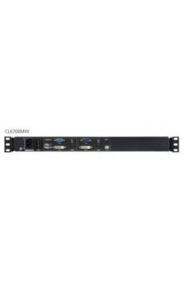 """Consola Rack KVM Aten LCD 17,3"""" HDMI+DVI+VGA"""