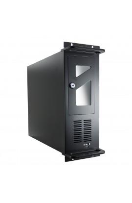"""Caja CPU Rack 19"""" ATX 4U color Negro s/Fuente Alimentación"""