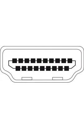Cable microHDMI 1.4 tipo D Macho a tipo A Macho 2ms