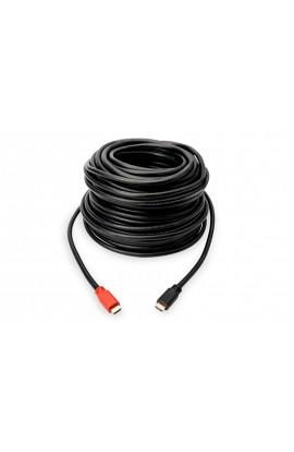 Cable HDMI Ethernet 3D 4K tipo A M/M AUTOAMPLIFICADO 20mts