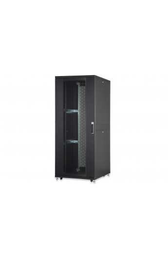 "Rack Server 19"" 42U 800x1000mm IP 20 doble Pta. perf. Black"