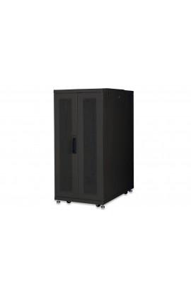 "Rack Server 19"" 26U 600x1000mm IP 20 doble Pta.Crist. Black"