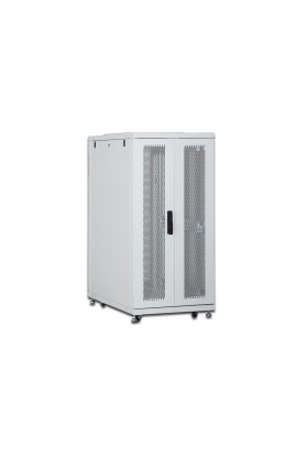 "Rack Server 19"" 26U 600x1000mm IP20 Ptas. perforadas Gris"