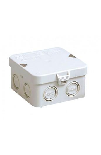 Caja conexión estanca IP65 MM 95x95x55mm c/tapa