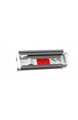 Caja empotrar en mesa MMDatalectric Easyblock 2xhuec. 45x45
